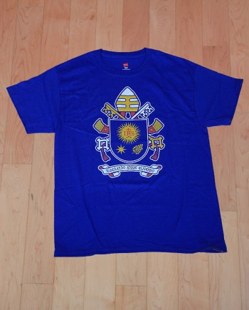 Pope francis coat of arms agnus giftshop for Catholic t shirts wholesale